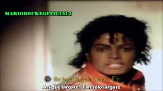 Beat It [Lyrics + Subtitulado Al Español] Official Video  VEVO