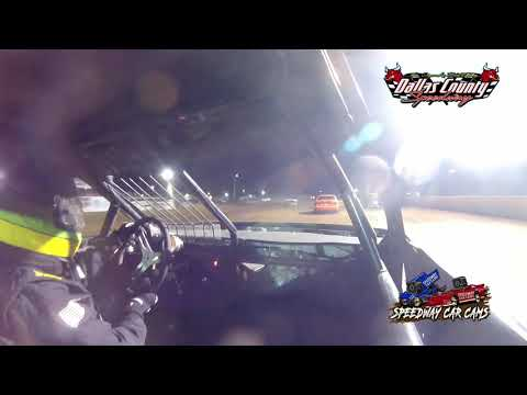 #21B Monty Barclay - 4 Cylinder - 7-9-2021 Dallas County Speedway - In Car Camera - dirt track racing video image