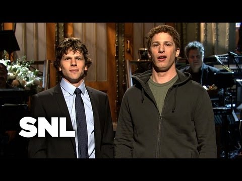Jesse Eisenberg Monologue at Saturday Night Live