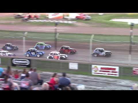 6/12/21 Legends Feature Beaver Dam Raceway - dirt track racing video image