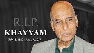 Veteran music composer Khayyam passes away