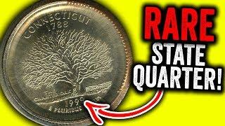 RARE 1999 STATE QUARTER WORTH MONEY!! ERROR QUARTER COINS TO LOOK FOR