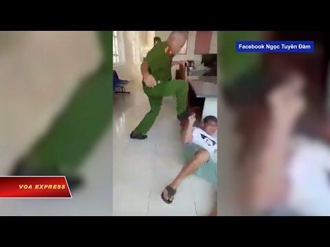 Truyền hình VOA 31/1/19: Tranh cãi vụ công an đạp mặt dân