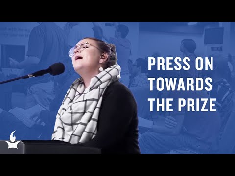 Press On Towards The Prize (spontaneous) -- The Prayer Room Live Moment