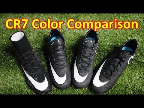 Nike CR7 Gala Glimmer Mercurial Colorway Comparison (4K) - UCUU3lMXc6iDrQw4eZen8COQ