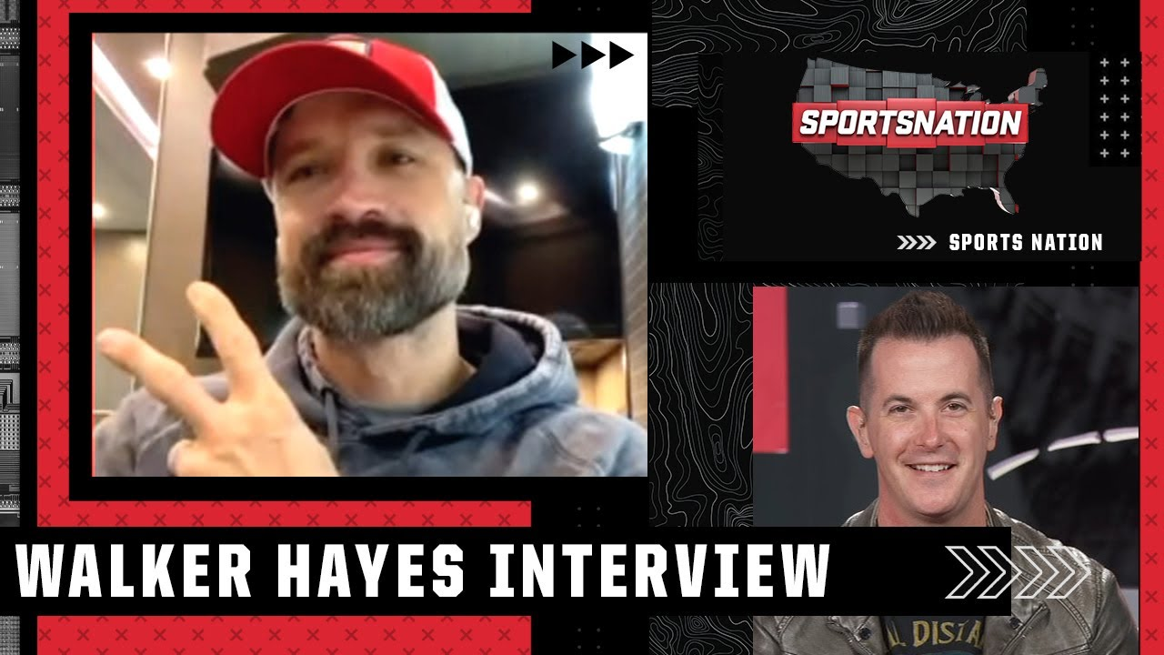 Jason Fitz interviews Walker Hayes about their love of country music and sports | SportsNation