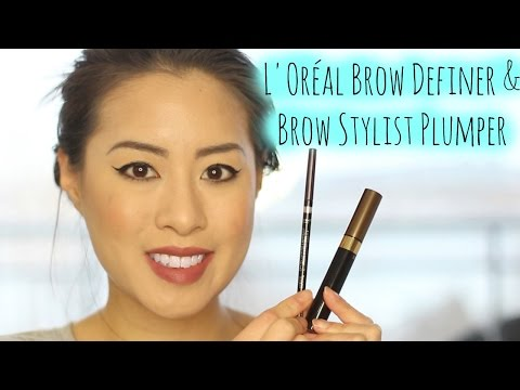 L'Oréal Brow Definer + Brow Stylist Plumper | First Impressions + Application + Review - UCDVMJOYPgMCutur8sywNV-g