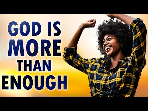 God is MORE than ENOUGH (No Problem God Cannot Solve) - John 2 - Morning Prayer