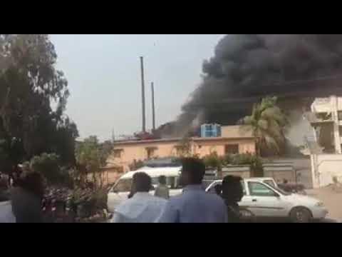 Fire Erupts In Korangi Industrial Area