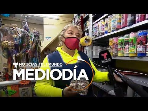 Mexicanos esperan el Año Nuevo con ritos contra el COVID-19   Noticias Telemundo