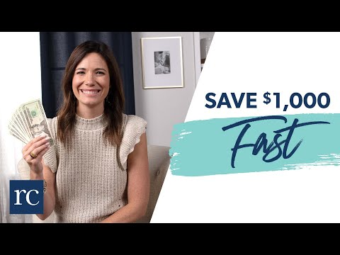 25 Ways to Save $1000 Fast