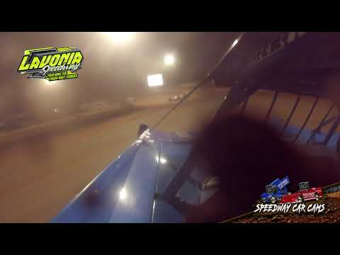 #1 Brandon Sheppard - World of Outlaws - 9-3-21 Lavonia Speedway - In-Car Camera - dirt track racing video image