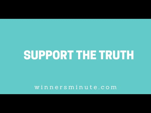 Support the Truth // The Winner's Minute With Mac Hammond