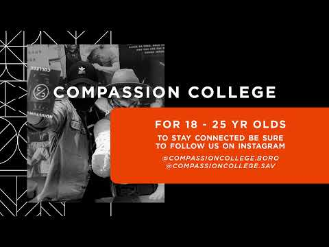 Compassion Live, Cam Huxford, 6:45PM
