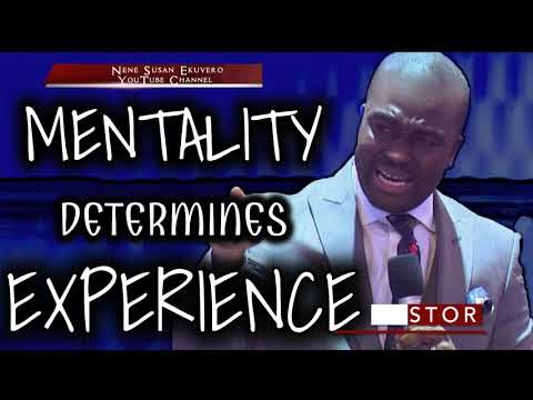 Ps D O J.  Mentality Determines Experience(Power Packed)
