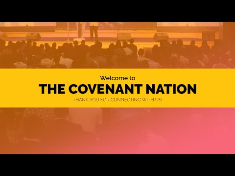 SATURDAY EVENING SERVICE  AT THE COVENANT NATION