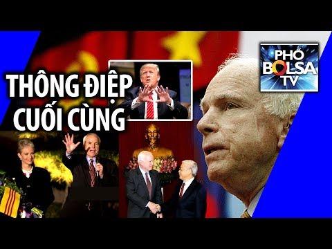 Luật sư Đỗ Phủ: Thông điệp chính trị cuối cùng của TNS John McCain