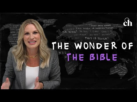 The Wonder of The Bible