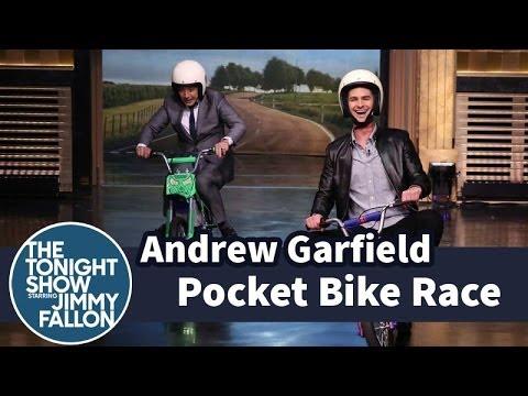 Pocket Bike Race at The Tonight Show Starring Jimmy Fallon