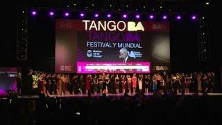 Argentina e russo vencem Mundial de Tango | AFP