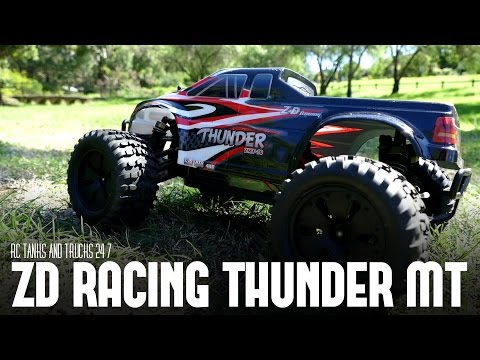 ZD Racing Thunder ZMT-10 4WD Brushless Monster Truck - Review - UC1JRbSw-V1TgKF6JPovFfpA