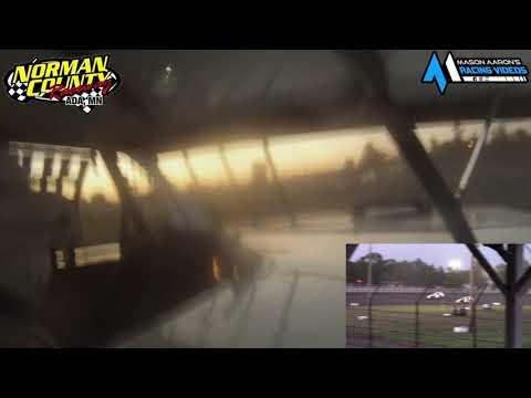 #9 Torey Fischer IMCA Sport Mod On-Board @ NCR (8/12/21) - dirt track racing video image