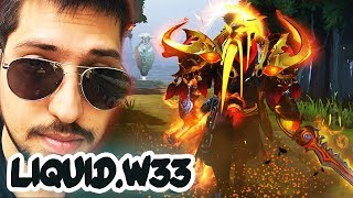 Liquid.w33 EPIC Ember Spirit NEW TI9 IMMORTAL + NEW TI9 MYTHICAL SET - MOST EXPENSIVE EMBER SET?!