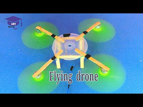 How to make a flying drone at home | you can make it very easily - UCHoYhcYuV6Y59SoMRA4vXMQ