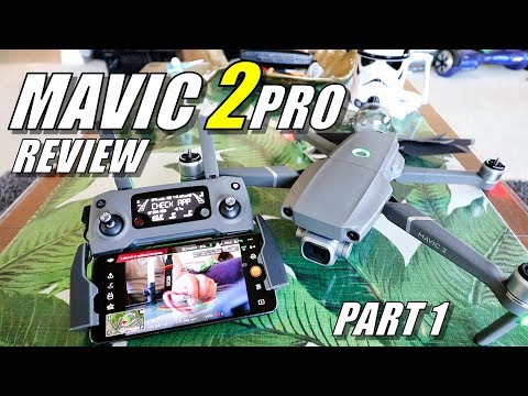 DJI Mavic 2 Pro Review - Part 1 - [Unboxing, Inspection, UPDATING Madness!] - UCVQWy-DTLpRqnuA17WZkjRQ