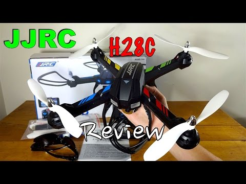 JJRC H28C Review and Flight - UC2c9N7iDxa-4D-b9T7avd7g