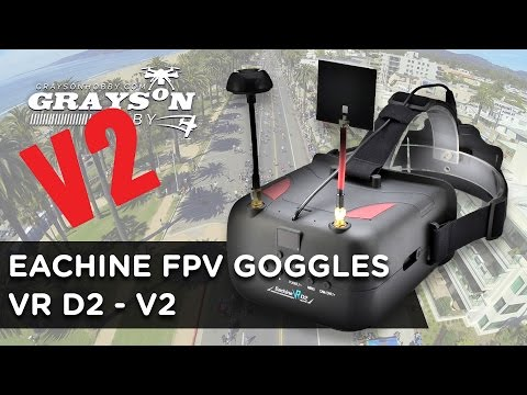 Eachine VRD2 V2 FPV Video Goggles - Updated Batch 2 - UCf_qcnFVTGkC54qYmuLdUKA