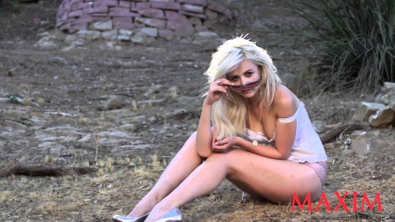 Go Behind The Scenes Of Mika Newton's Sexy Maxim Photo Shoot!