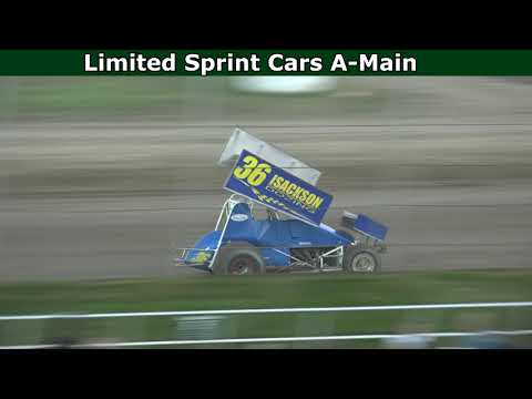 Grays Harbor Raceway, July 10, 2021, Limited Sprint Cars A-Main - dirt track racing video image