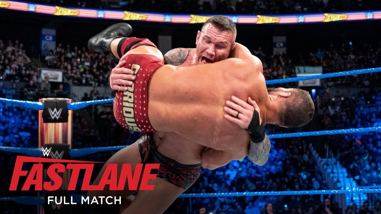 FULL MATCH – Bobby Roode vs. Randy Orton – United States Title Match: WWE Fastlane 2018