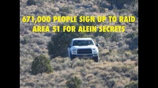 Area 51 Storm, 671,000 People Sign up on FB to Raid Groom Lake for Alien Secrets, Latest