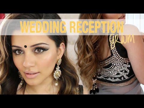 GRWM | Wedding Reception Party Makeup + Hair Tutorial | Kaushal Beauty - UC5lRKBgDMpPas8-VP3wsh0A