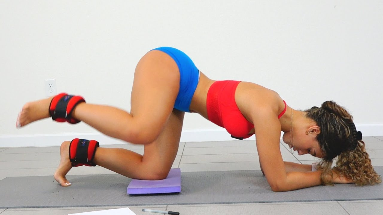 Baby Got Back!! Natural Big Booty Workout!