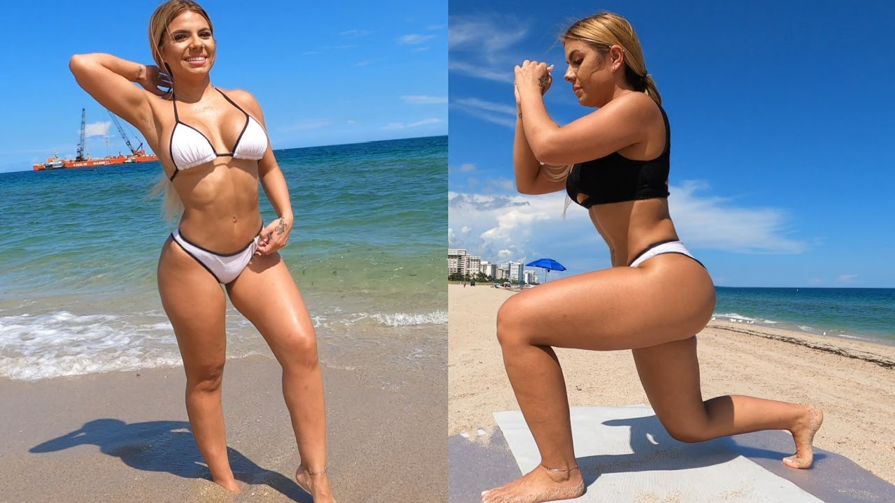 Sexy Bikini Legs and Booty Beach Workout!