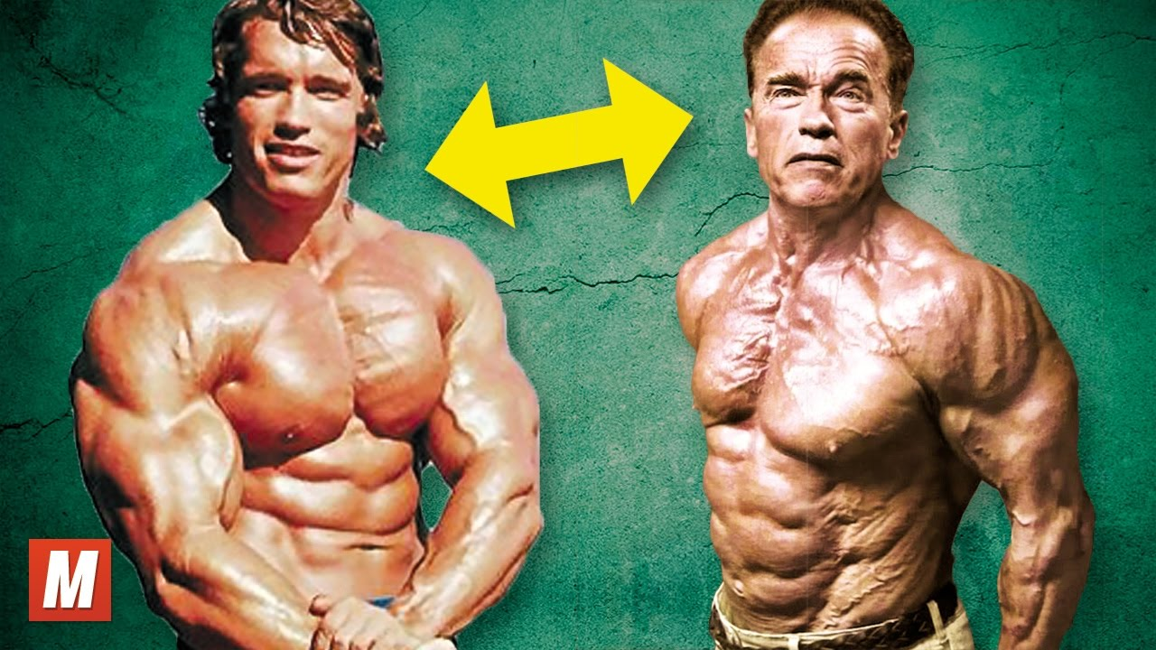 Arnold Schwarzenegger | From 17 To 70 Years Old | Racer.lt