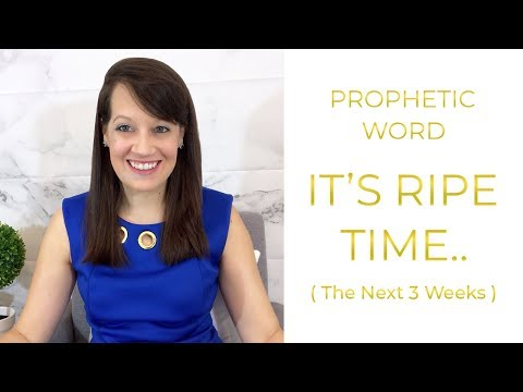 Prophetic Word: Cut The Branches, Harvest is almost here