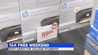 Retailers offering savings on tech this tax-free weekend