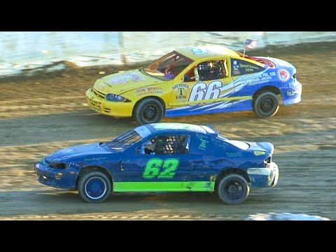 Kids Mini Stock Feature | Bradford Speedway | 9-20-20 - dirt track racing video image
