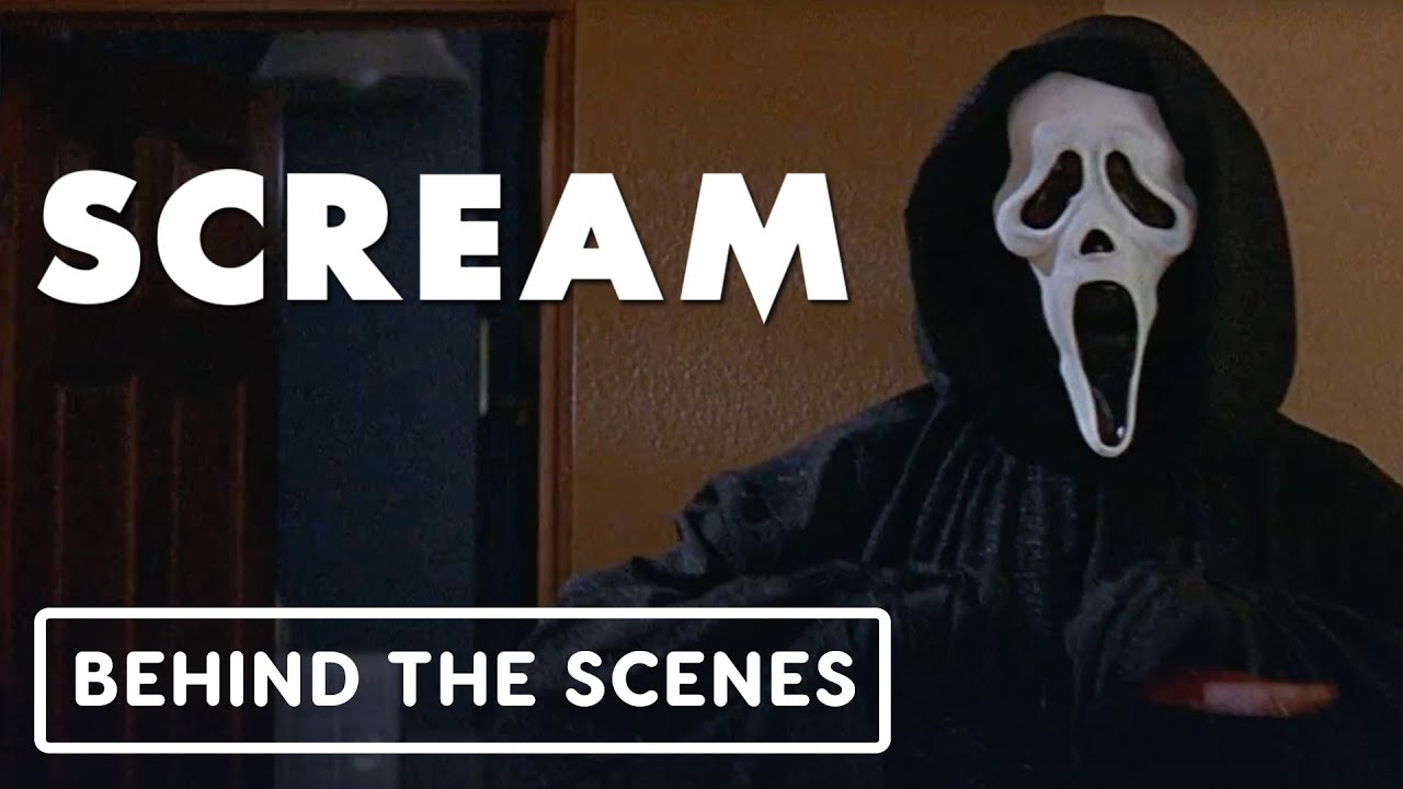 """Scream 25th Anniversary – Exclusive """"The Story Behind the Ghostface Mask"""" Clip (Neve Campbell)"""