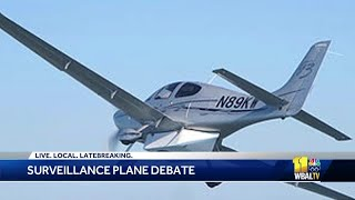 Baltimore police has no decision to bring back surveillance planes