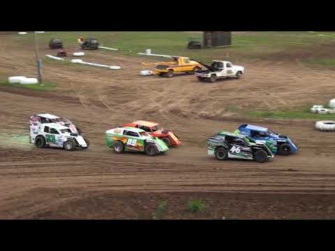 CMS MODLITES JULY 14th, 2018 - dirt track racing video image