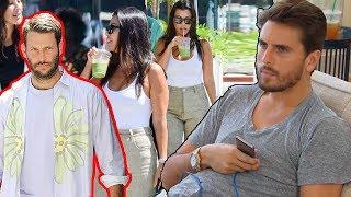 Scott Disick mad jealous when Kourtney Kardashian walking with strange man, does he still love her