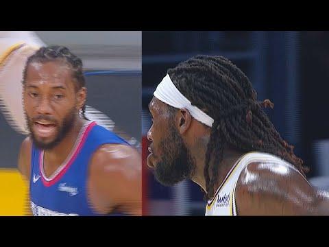 Kawhi Disrespects Lakers' Montrezl Harrell After Miss! John Wall & DeMarcus Cousins Rockets Debut!