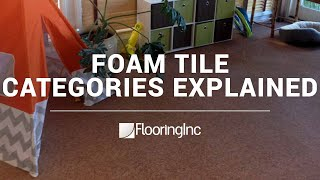Foam Tile Categories Explained video thumbnail