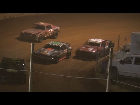 Wild Stock V8 Race at Winder Barrow Speedway May 22nd 2021 - dirt track racing video image
