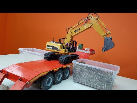 НА ЧТО СПОСОБЕН ЭКСКАВАТОР ЗА 2900 РУБЛЕЙ ... Rc excavator Huina 1550 - UCvsV75oPdrYFH7fj-6Mk2wg